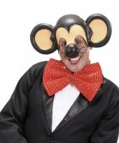 Carnavalskleding voorhoofd oren een muis