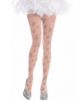 Carnavalskleding winter thema dames panty