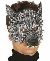 Carnavalskleding wolf wolven horror halloween masker foam