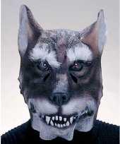 Carnavalskleding wolven masker