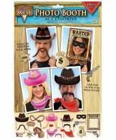 Carnavalskleding x fotoprops cowboy feestje