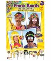 Carnavalskleding x fotoprops hippie feestje