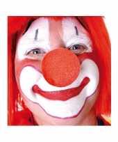 Carnavalskleding x stuks carnaval neus neuzen rood 10124149