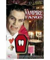 Carnavalskleding x vampier horror tanden