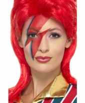 Carnavalskleding ziggy make up set