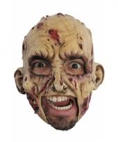 Carnavalskleding zombie masker gemaakt rubber