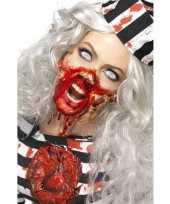 Carnavalskleding zombie schmink set latex