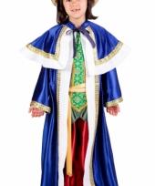 De drie wijzen blauw carnavalskleding kinderen