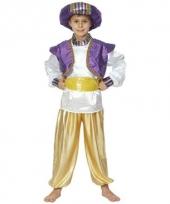 Disneys aladdin carnavalskleding jongens