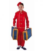 Hotelbediende carnavalskledings kinderen