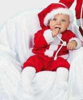 Kerst baby carnavalskleding compleet