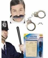 Politie verkleed accessoires carnavalskledingket