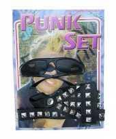 Punkers verkleed carnavalskledingketje