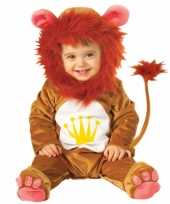 Zacht baby leeuwen carnavalskleding